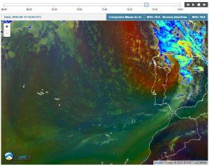 Exemplo para a visualização das imagens de satélite em mapa dinâmico